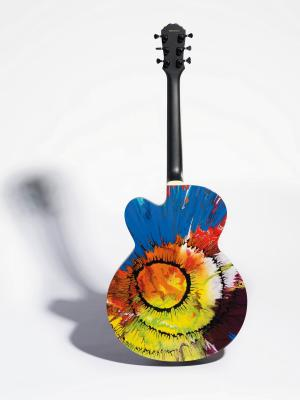 Damien Hirst Guitar Back