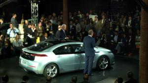 a still from Revenge of the Electric Car, the opening night film at Planet In Focus