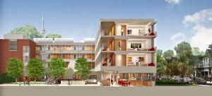 Rendering for new Ronald McDonald house, Toronto