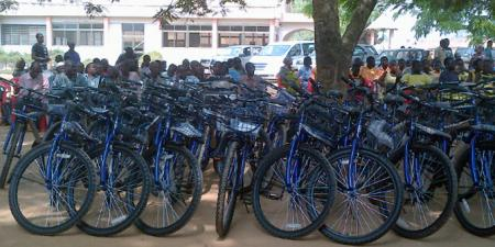 Canadians Donating Bikes To Africa Cadbury Bicycle Program In
