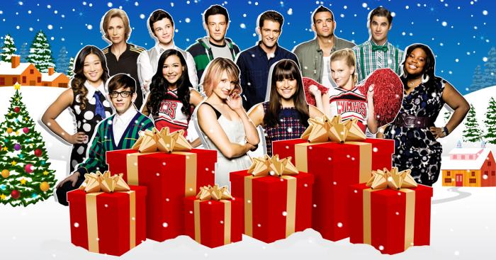 Christmas Joy Cast.Glee Cast Records Do They Know It S Christmas Charity
