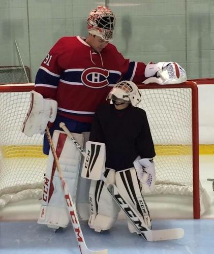 Montreal Canadiens Carey Price Gives Goal Gear To Hometown