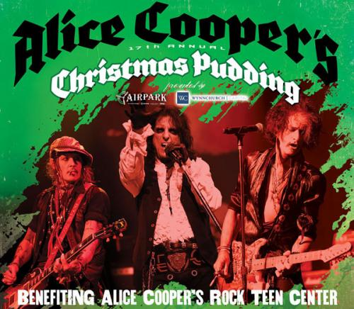 Joe Perry Alice Cooper Christmas Pudding 2021 Alice Cooper S Christmas Pudding Stirs In Hollywood Vampires Gretchen Wilson Sebastian Bach Members Of Blue Oyster Cult And More